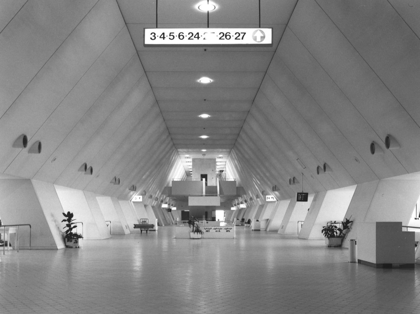 Aeropuerto Internacional de Kuwait. Kenzo Tange.